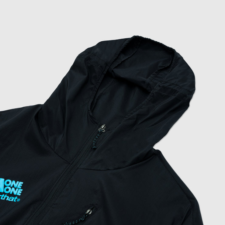 THISISNEVERTHAT X HOKA ONE ONE WIND RESISTANT HOODED PULLOVER
