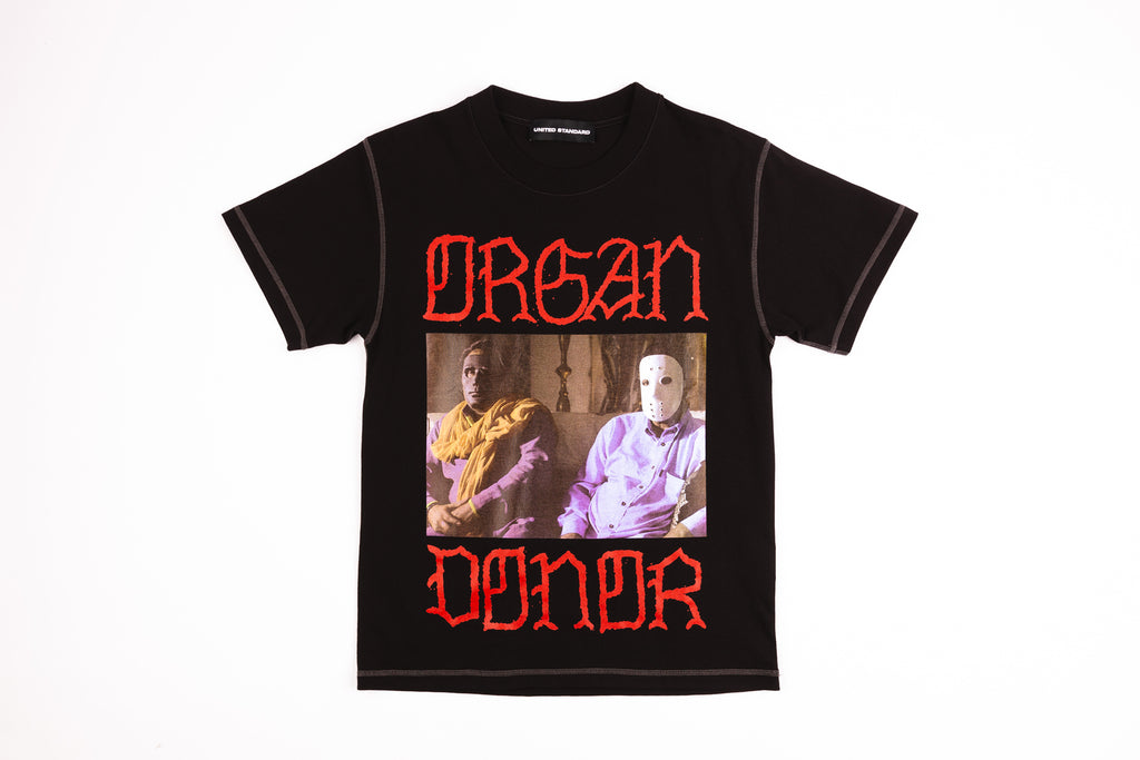 "UNITED STANDARD X CTD ""ORGAN DONOR"" S/S T-SHIRT"