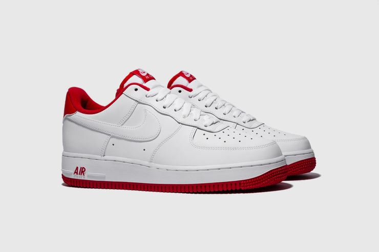 "NIKE AIR FORCE 1 '07 1 ""UNIVERSITY RED"""