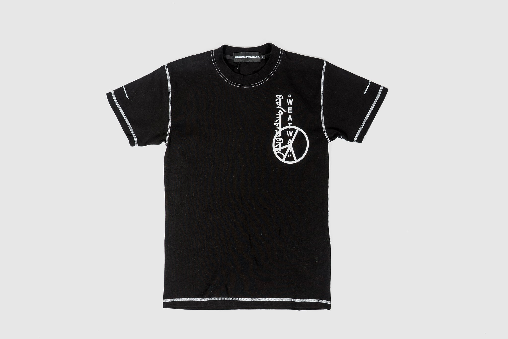 UNITED STANDARD X VIRGIL ABLOH WAR T-SHIRT