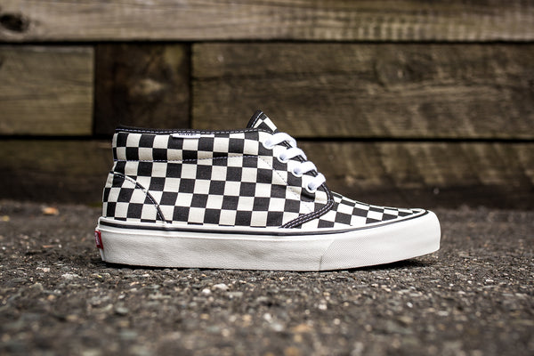 "VANS CHUKKA DX SF ""CHECKERBOARD"""