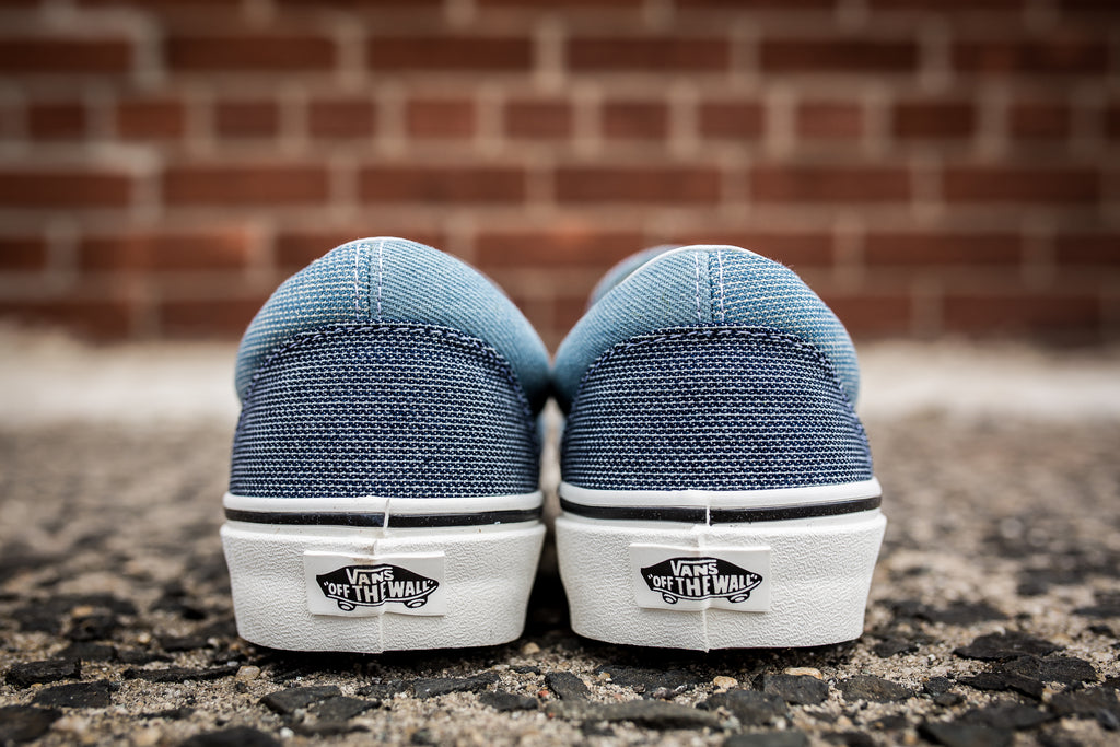 "VANS CLASSIC SLIP-ON ""PATCHWORK DENIM"" - BLUE"