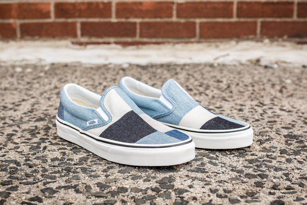 "VANS CLASSIC SLIP-ON ""PATCHWORK DENIM"""