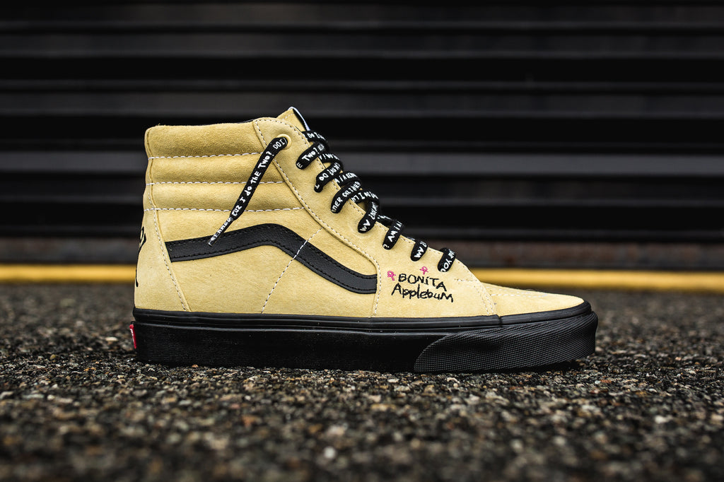 VANS X A TRIBE CALLED QUEST SK8-HI - MELLOW YELLOW/SPECTRA YELLOW