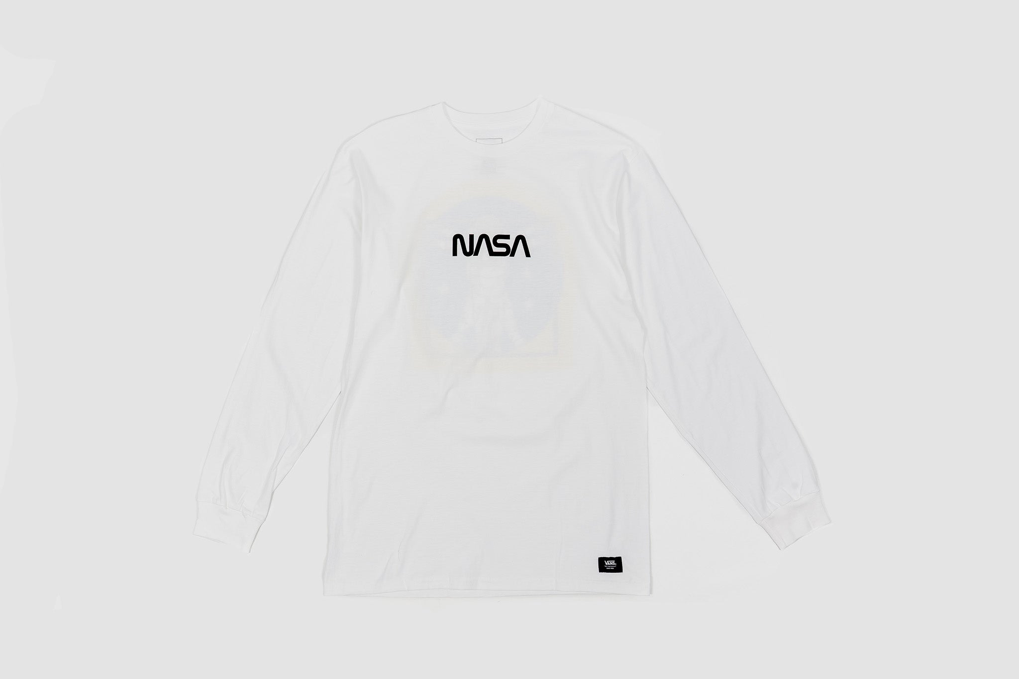 "VANS X NASA SPACE MAN L/S T-SHIRT  ""SPACE VOYAGER COLLECTION"""