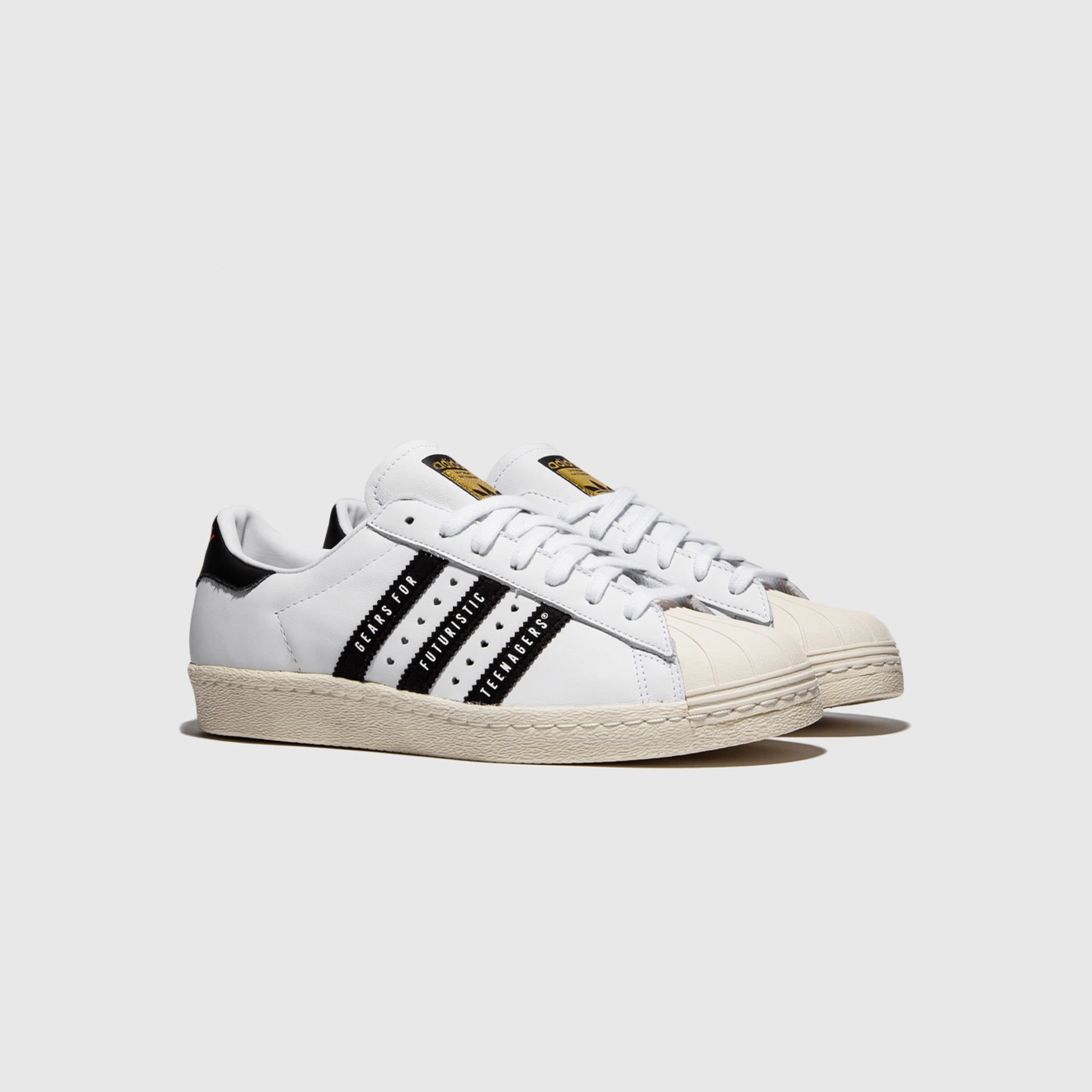 ADIDAS ORIGINALS SUPERSTAR 80S X HUMAN MADE