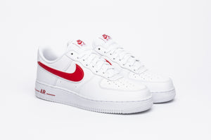 "NIKE AIR FORCE 1 '07 3 ""GYM RED"""