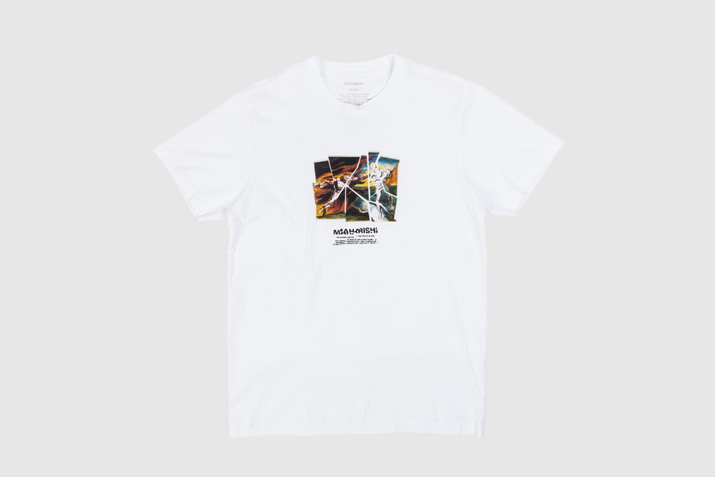 MAHARISHI HEAVEN AND HELL S/S T-SHIRT