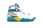 "WMNS AIR JORDAN 8 RETRO ""WHITE AQUA"""