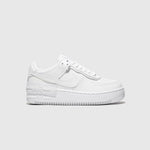 "NIKE WMNS AIR FORCE 1 SHADOW ""TRIPLE WHITE"""