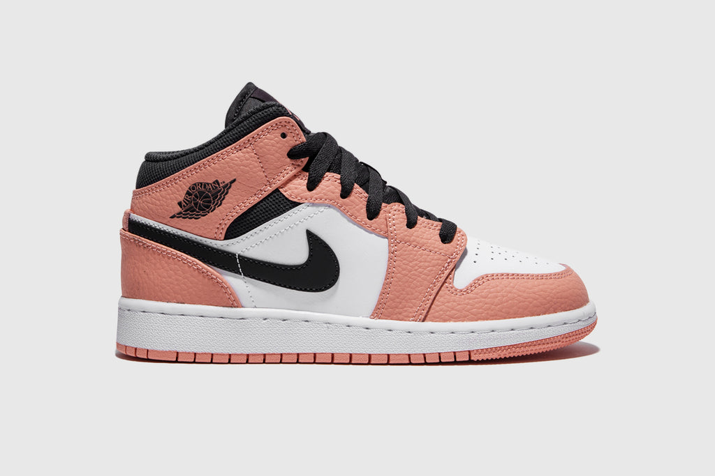 "AIR JORDAN 1 MID (GS) ""PINK QUARTZ"""