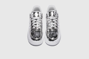"NIKE WMNS AIR FORCE 1 SP ""METALLIC SILVER"""