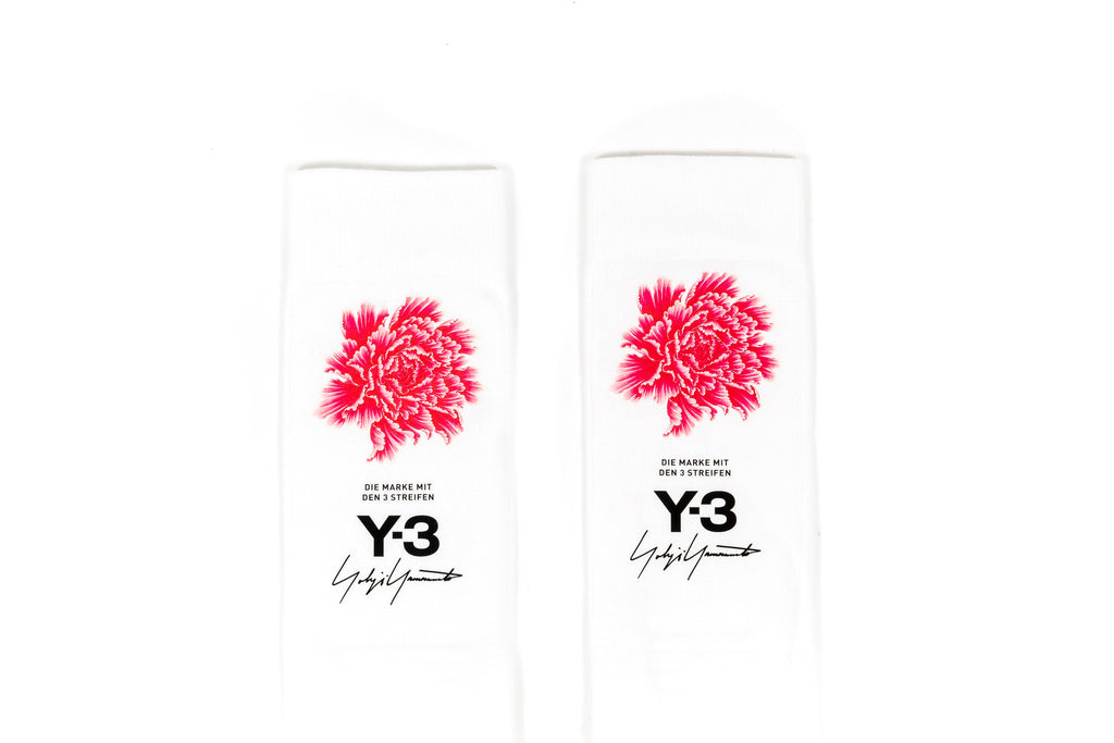 ADIDAS Y-3 JAMES HARDEN SOCKS - WHITE