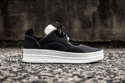 ADIDAS Y-3 WOMEN'S WEDGE STAN - BLACK/WHITE