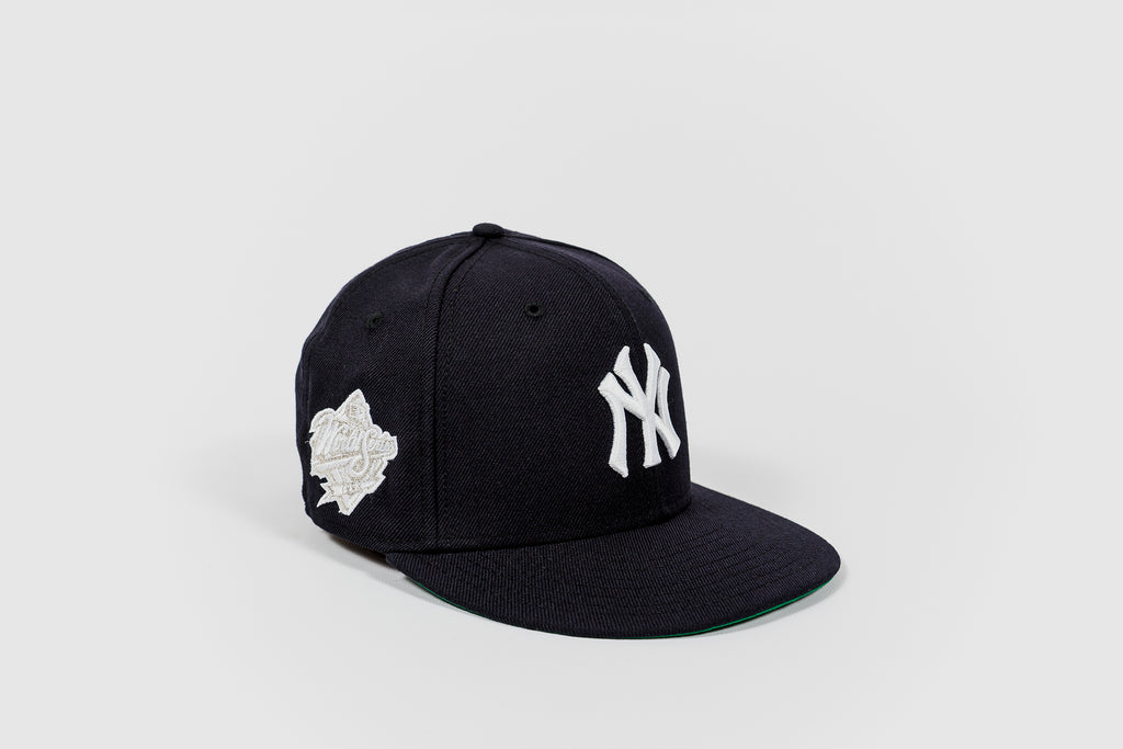 "PACKER X NEW ERA NEW YORK YANKEES 1998 WS ""PLATINUM"" 5950"
