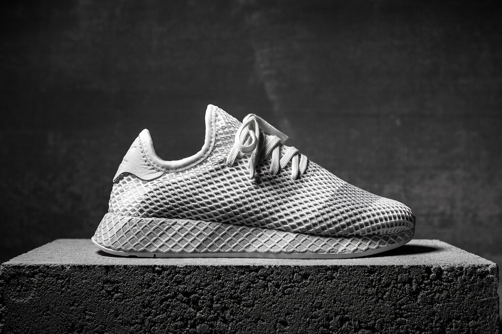 ADIDAS CONSORTIUM DEERUPT - WHITE/GREY – PACKER SHOES