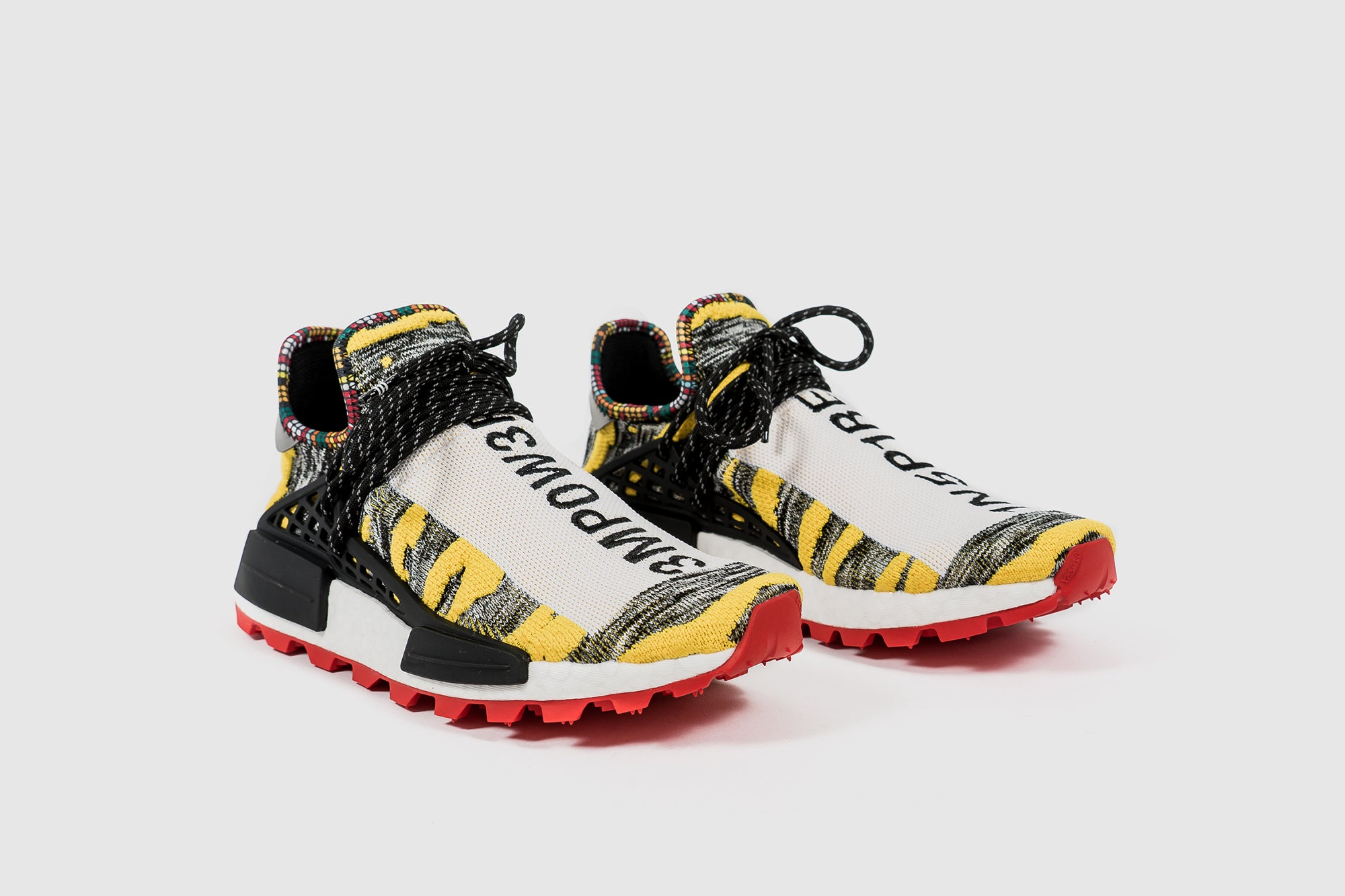 low priced b1fdc 0e6aa PHARRELL WILLIAMS = ADIDAS ORIGINALS SOLAR HU NMD – PACKER SHOES