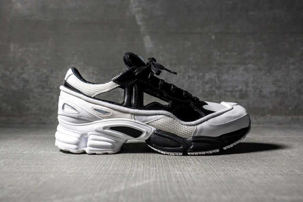 Black and White adidas Originals Edition Ozweego Replicant Sneakers Raf Simons GpL4Q613U