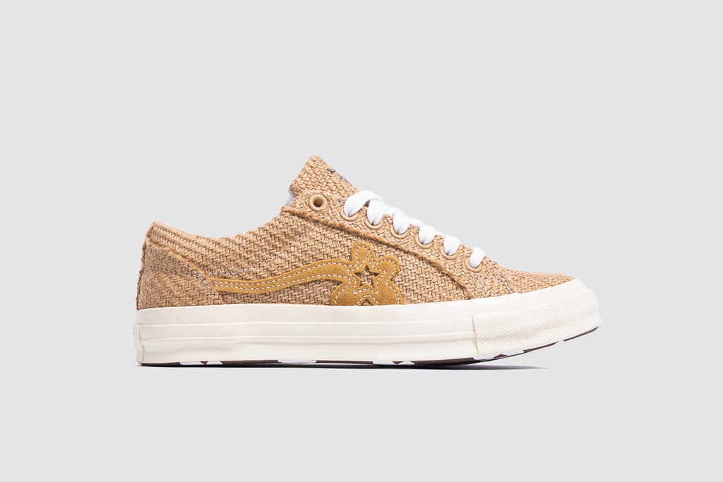 "CONVERSE ONE STAR OX X GOLF LE FLEUR ""BURLAP COLLECTION"""