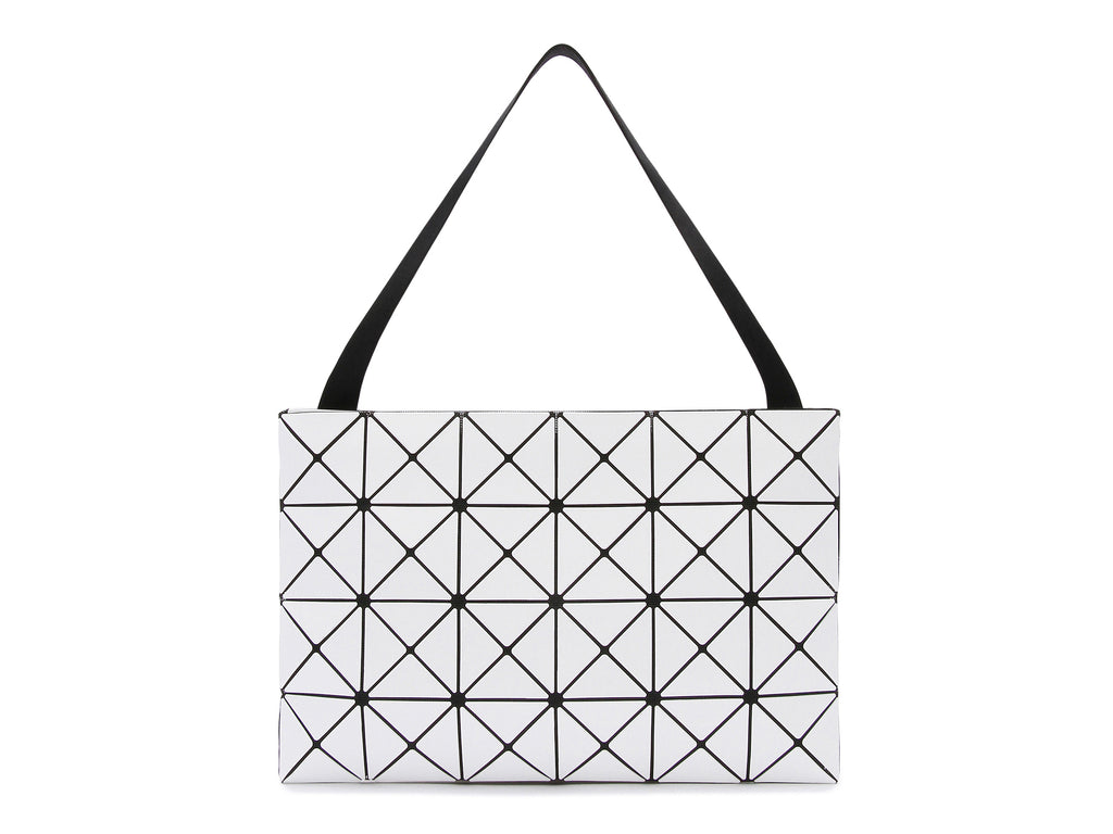 ... half off b1273 d2e4b Issey Miyake Bao Bao - Basic Lucent Large Crossbody  (White) ... d00e4fdec1db6