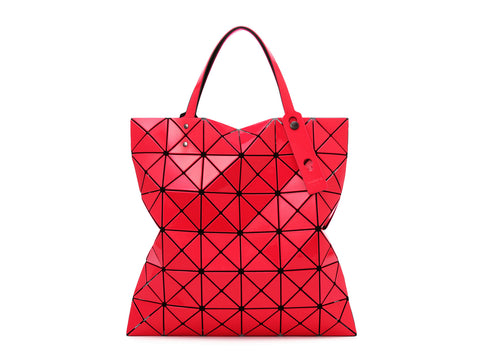 Issey Miyake Bao Bao - Lucent W Color 2-Tone Tote (Red x Pink)
