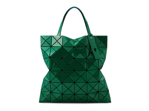 Issey Miyake Bao Bao - Lucent W Color 2-Tone Tote (Green x Turquoise Blue)