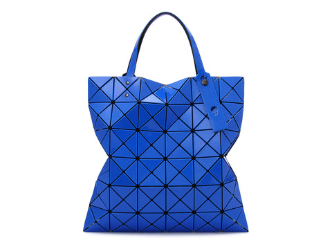 Issey Miyake Bao Bao - Lucent W Color 2-Tone Tote (Blue x Dark Blue)