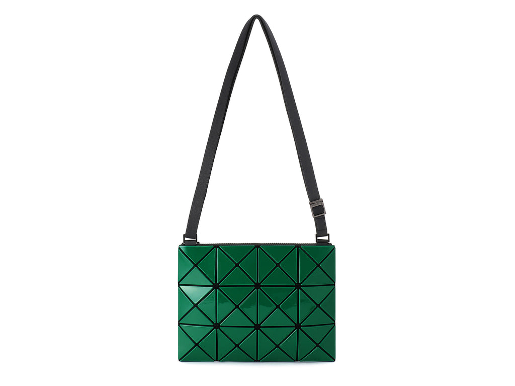 Issey Miyake Bao Bao - Lucent W Color Small 2-Tone Crossbody (Green x Turquoise Blue)