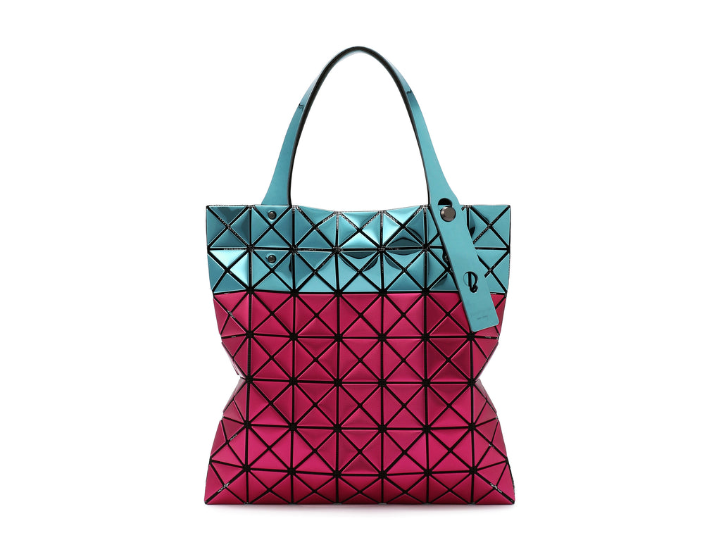 10d5a4701e9b Issey Miyake Bao Bao - Prism Platinum Stardust Tote Small (Wine x Blue)