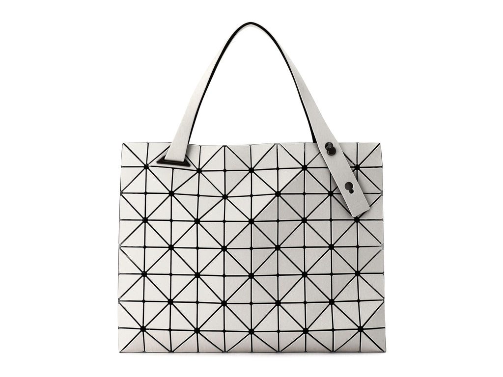 Issey Miyake Bao Bao - Carton Twill Shoulder Bag (Light Gray)