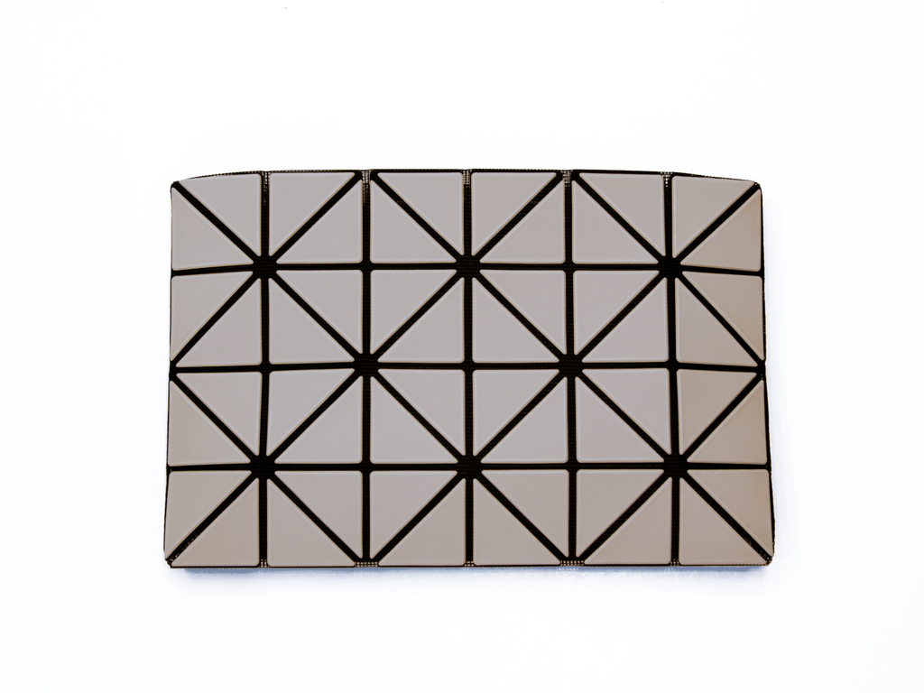 Issey Miyake Bao Bao - Lucent Frost Clutch (Light Grey)