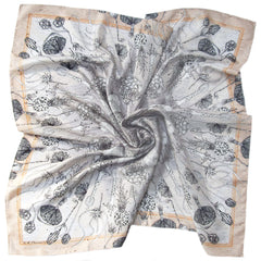Masse de Spores | Square Silk Scarf