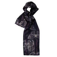 Luna | Long Silk Scarf