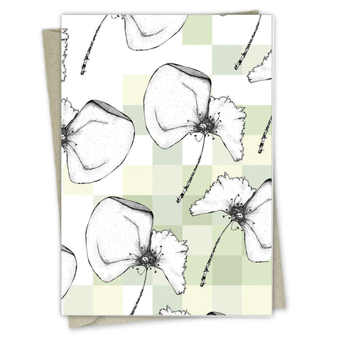 Poppy Down the Wind | A6 Greeting card