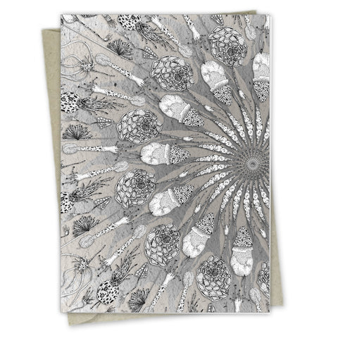 Masse de Spores | A6 Greeting card