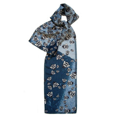 Api Blu - Bee | Long Silk Scarf