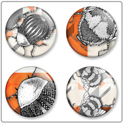 Geo Bug | Button Badge Set