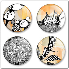 Dandy LayIN | Button Badge Set