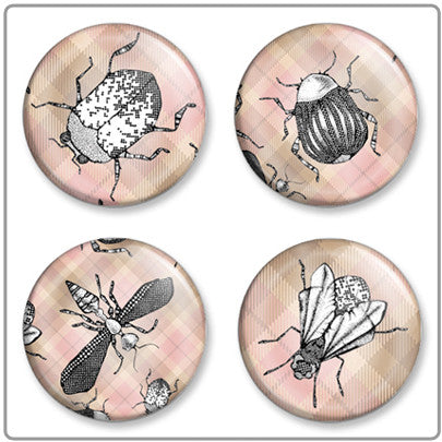 Bug Out | Button Badge Set