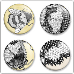 Runny Honey | Button Badge Set