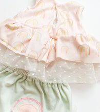 Load image into Gallery viewer, Sunshine Rainbow Blouse + Bloomer