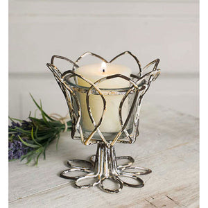 Tulip Votive Candle Holder  - Set of 4