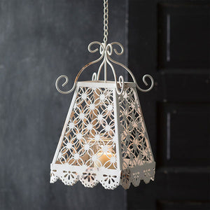 Charming Vintage Hanging Votive Holder
