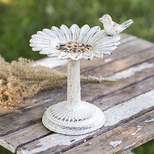 Sunflower Tabletop Bird Feeder