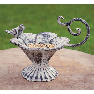 Flower Cub Tabletop Birdfeeder Swirl Handle - Set of 2