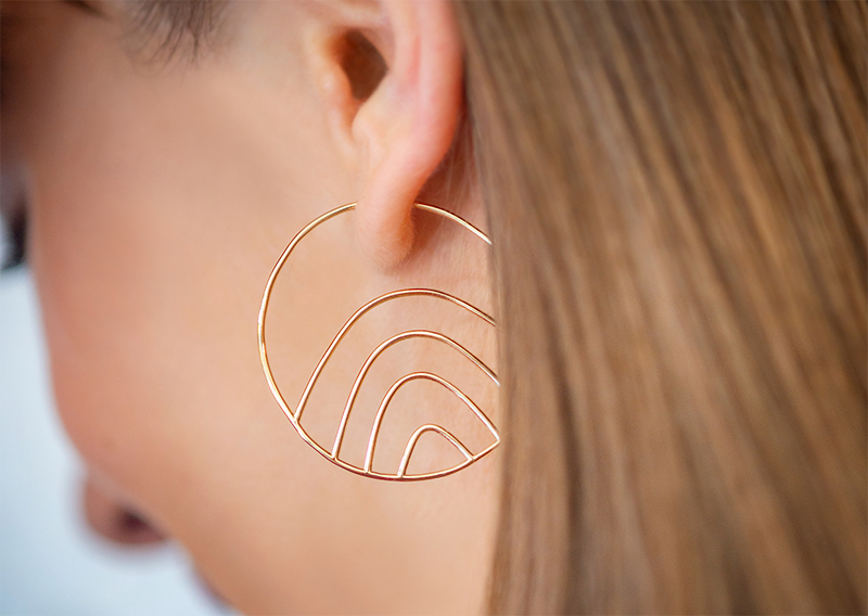 We'd jump through hoops for these earrings