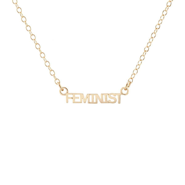 Feminist Charm Necklace