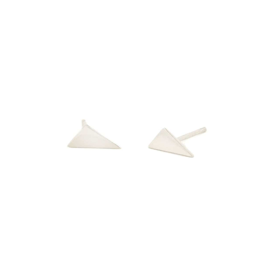 Obtuse Triangle Stud Earrings