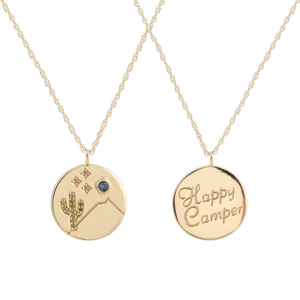 Happy Camper Charm Necklace