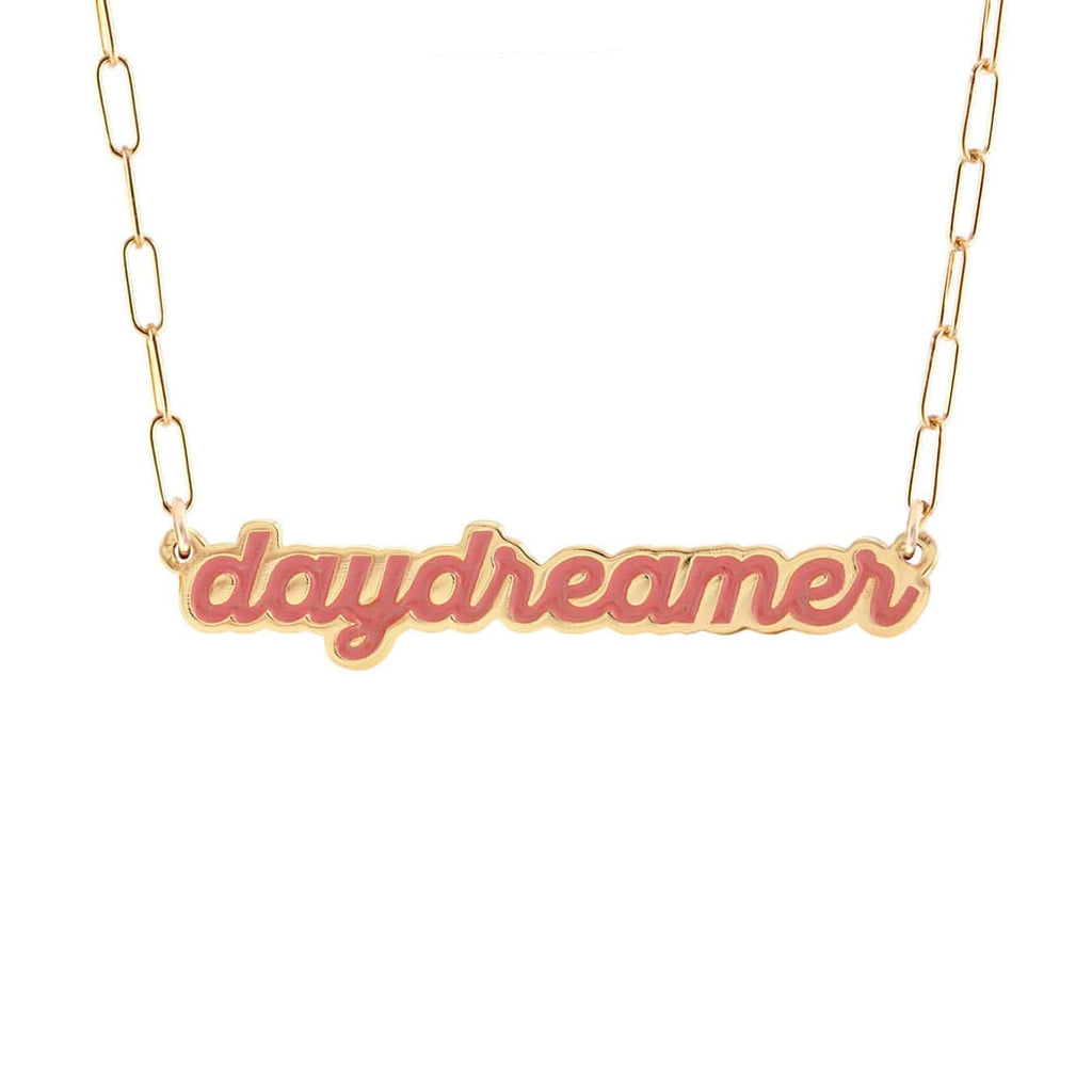 Daydreamer Enamel Charm Necklace
